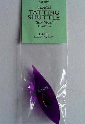 Sew Mate Tatting Shuttle Pointed Tip  Choice Of 4 Colors