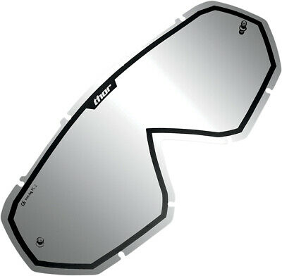 THOR MX Motocross Genuine Replacement Lens for Hero/Enemy Goggles (Mirror/Black)