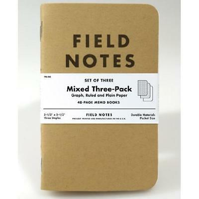Field Notes Kraft Mixed 3-Pack New