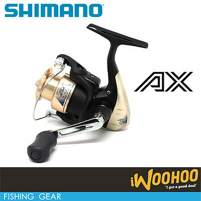 Shimano AX1000FB Spinning Reel Tackle Accessory Fishing Rod Gear Angler AU