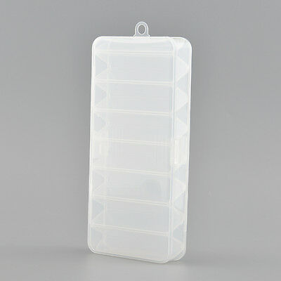 Fly Fishing Box Storage Tool Fish Tackle Lures Boxes Hard Double Sided Useful
