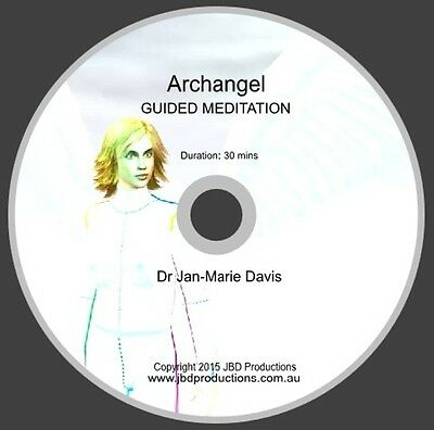 Archangel Guided Meditation CD by Dr Jan-Marie Davis Music & Voice