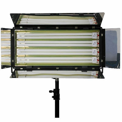 LB4 1100W 455 Fluorescent Light bank Video Lighting Daylight Balance Film