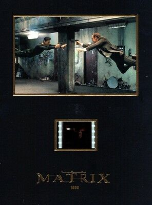 """MATRIX 1999 Sci-Fi Action Movie 5"""" x 7"""" SENITYPE FILM CELL and ART GRAPHIC PHOTO"""