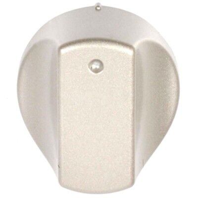 Silver Control Knob Switch for HOTPOINT Hot-Ari ix Oven Cooker SHS53X SHS53XS