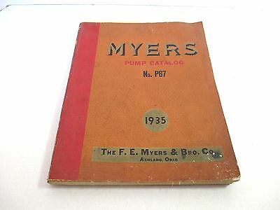 Vintage 1935 P 67 FE Myers Repair Catalog Farm Hay Tools PUMPS Doors Etc #3