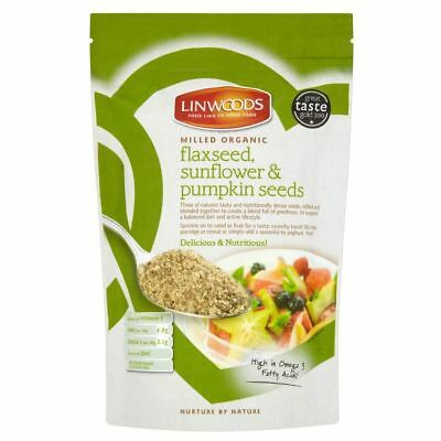 Linwoods Milled Organic Flaxseed Sunflower & Pumpkin Seeds (200g)