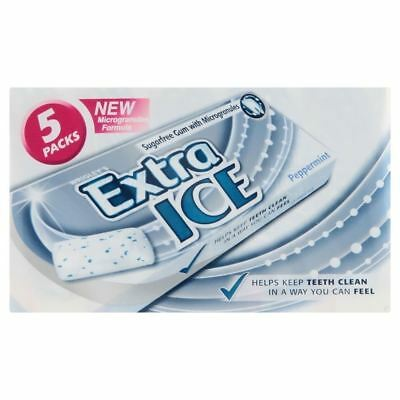 Wrigley's Extra Ice Sugarfree Gum (10 per pack x 5)