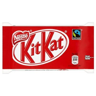 Nestle Fairtrade Kit Kat 4 Finger Bar (45g)