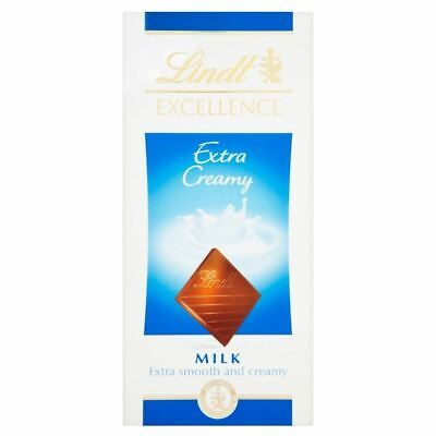 Lindt Excellence Milk Chocolate - Extra Creamy (100g)
