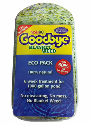 BLANKET WEED KILLER (Simple to use) Will treat a 1000 gal pond for up to 6 weeks