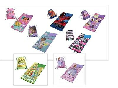 Disney and Nickelodeon Kids Slumber Sack and Sleeping Bag Set