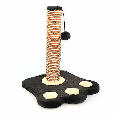 Cat Scratch Post Activity Pole Centre Climbing Play Sisal Scratcher Toy