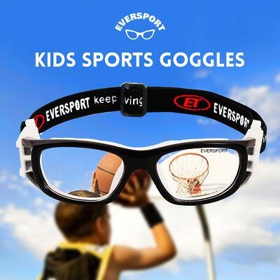 6f365f840a Kids Protective Sports Goggles Safety Eyewear Basketball Football Soccer  Glasses