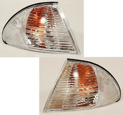 BMW 3-series E46 1998-2001 front Left Right indicators turns signal lights