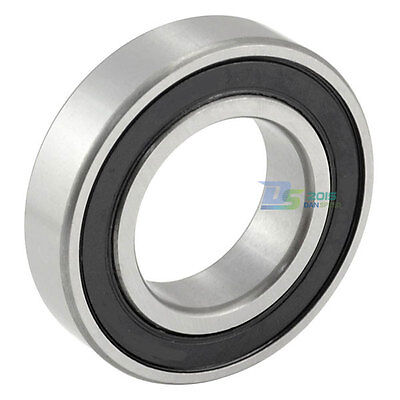 6006RS Black Rubber Sealed Deep Groove Ball Bearing 30 x 55 x 13mm O3D7