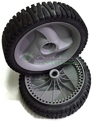 Set of 2 Drive Wheels 194231X460 583719501 Self Propelled Gray OEM USA made