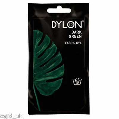Dylon Fabric and Clothes Hand Dye 50g - Forest Dark Green