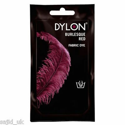 Dylon Fabric and Clothes Hand Dye 50g - Burlesque Red
