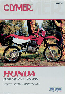 clymer repair service shop manual vintage honda xl500s r xl600r clymer repair manual for honda xl500s xl500r xr500 xr500r xl600r xr600r