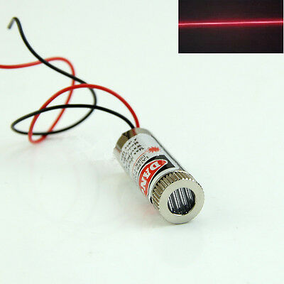 Red Line Laser Module 5mW 650nm Focus Adjustable Laser Head 5V Industrial Grade