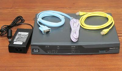 CISCO881-K9 Router w/ NBN Ready CCNA CCNP Fully Tested 6MthWtyTaxInv