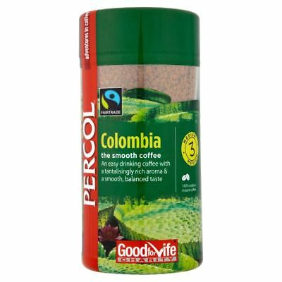 Percol Fairtrade Colombia Arabica Coffee (100g)