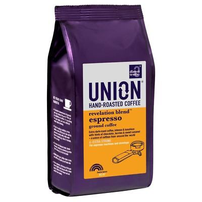 Union Hand Roasted Revelation Blend Espresso Ground Coffee (227g)