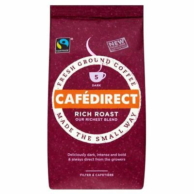 Cafédirect Fairtrade Rich Roast Ground Coffee (227g)