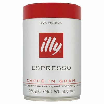 Illy Espresso Caffe in Grani Coffee Beans (250g)