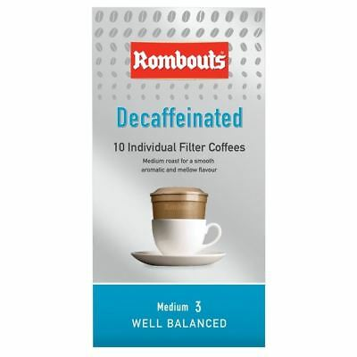 Rombouts Decaffeinated Individual Filter Coffees (10)