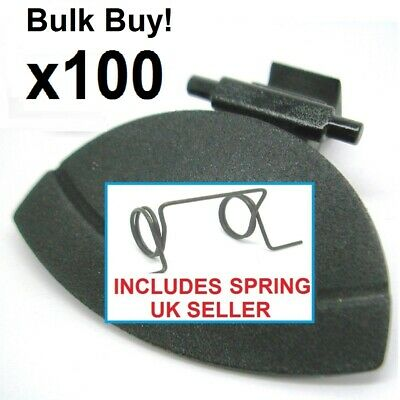 BLACK NYLON Citroen C4 HANDLE & SPRING for glove box compartment glovebox repair