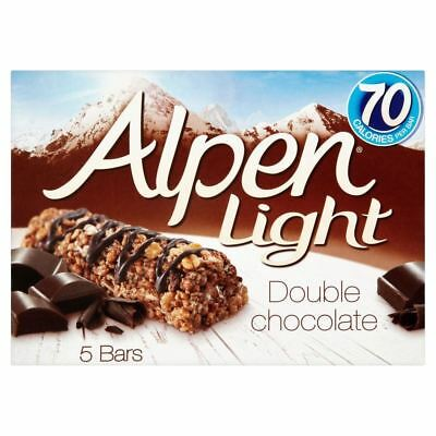 Alpen Light Bars Double Chocolate (5x19g)