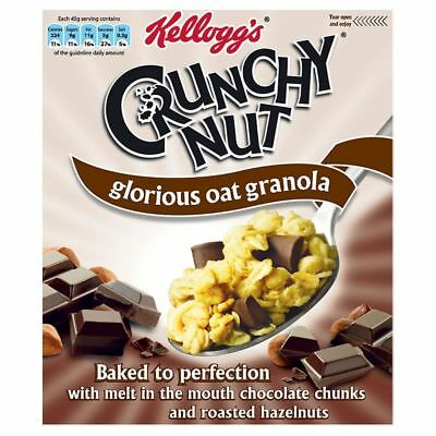 Kellogg's Crunchy Nut Glorious Oat Granola Chocolate & Nut (380g)
