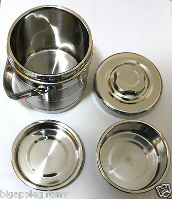 Vacuum Stainless Steel Flask thermos bento Food Lunch Carrier 1.2 Liter 1200ml