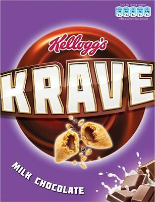 Kellogg's Krave Milk Chocolate (375g)
