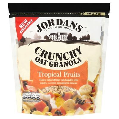 Jordans the Original Crunchy Oat Granola with Tropical Fruits (770g)