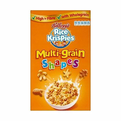 Kellogg's Rice Krispies Multi-Grain Shapes (350g)