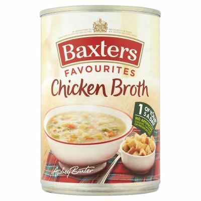 Baxters Favourites Chicken Broth Soup (400g)