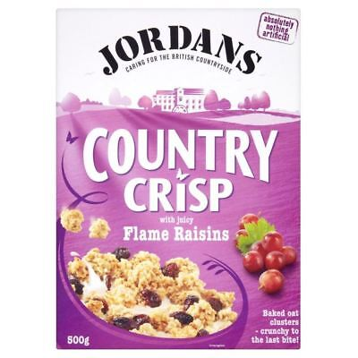Jordans Country Crisp Flame Raisin Clusters (500g)