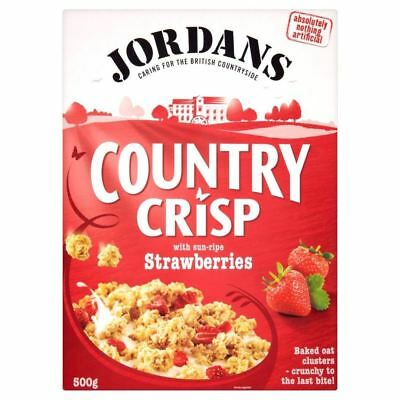 Jordans Country Crisp Strawberry Crunchy Clusters (500g)