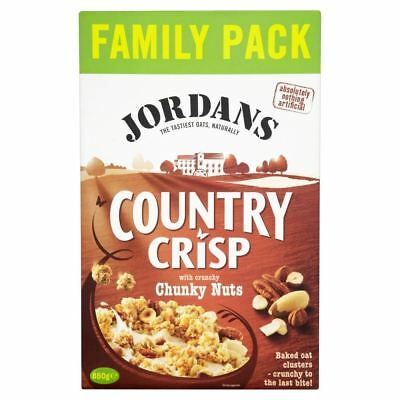 Jordans Country Crisp with Chunky Nuts (850g)