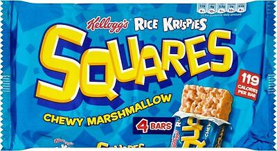 Kellogg's Rice Krispies Squares Chewy Marshmallow (4x28g)