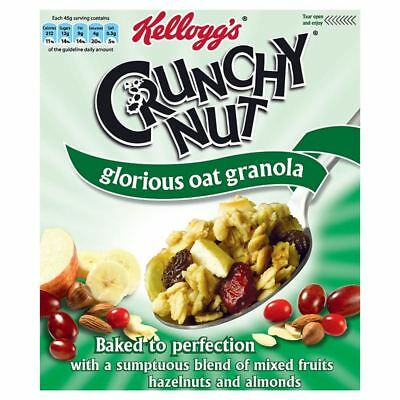 Kellogg's Crunchy Nut Glorious Oat Granola Fruit & Nut (380g)