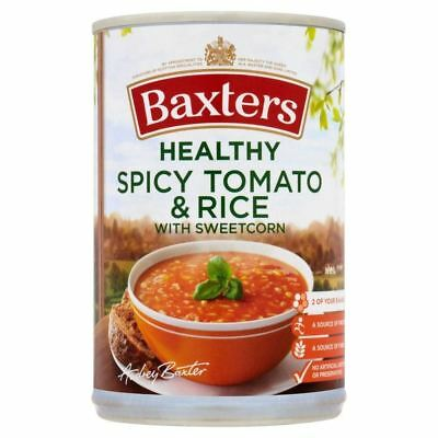 Baxters Healthy Spicy Tomato & Rice with Sweetcorn Soup (400g)