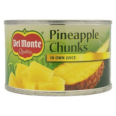 Del Monte Pineapple Chunks in Own Juice (227g)