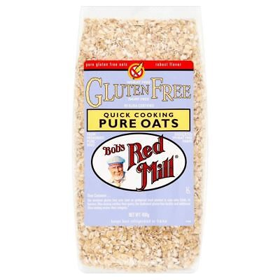 Bob's Red Mill Gluten Free Quick Cooking Oats (400g)