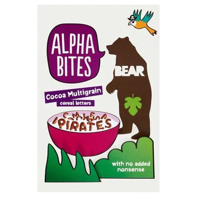 Bear Alpha Bites Cocoa Multigrain Cereal Letters (375g)