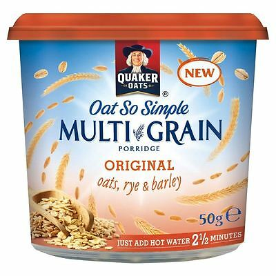 Quaker Oat So Simple Multigrain Porridge Original (50g)