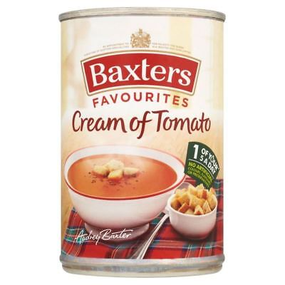 Baxters Favourites Cream of Tomato Soup (400g)